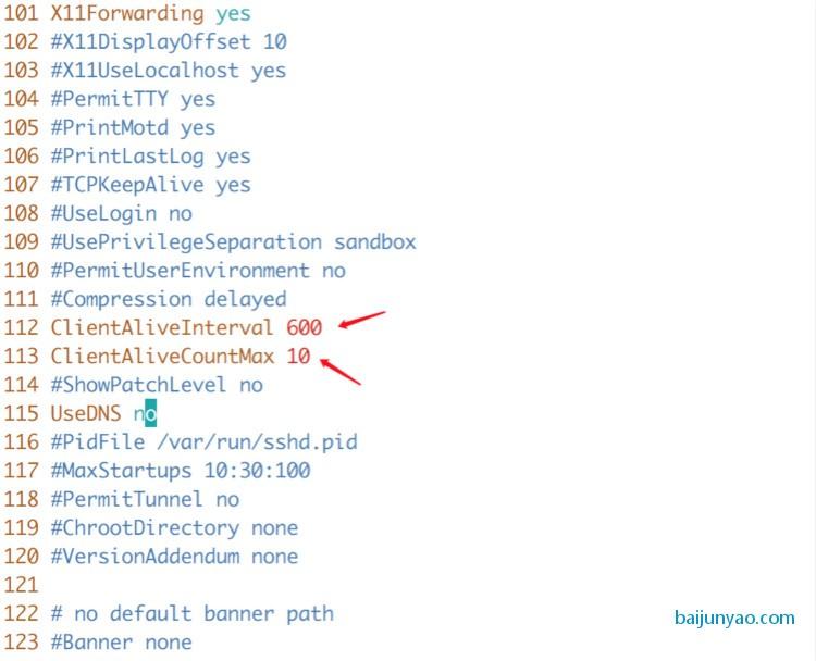 解决ssh链接服务器超时自动断开的问题