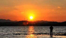 设计师摄影师海边夕阳素材下载